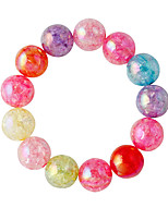 Bracelet Strand Bracelet Alloy Round Fashion Jewelry Gift Assorted Color,1pc