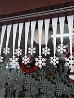 Franela Decoraciones de la boda-2Piece / Set Adornos Navidad tema rústico Blanco Primavera / Verano / Otoño / Invierno No PersonalizadoNo