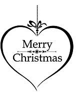 Christmas Window Sticker Contemporary , Art Deco 24*45cm