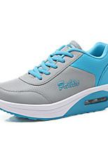 Da donna-Sneakers-Tempo libero / Ufficio e lavoro / Casual-Punta arrotondata / Ballerine-Piatto-PU (Poliuretano)-Blu / Verde / Rosa /
