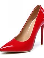 Korkokengät-Piikkikorko-Naisten kengät-Synteettinen / Kiiltonahka / Tekonahka-Musta / Keltainen / Pinkki / Punainen / Valkoinen / Manteli-
