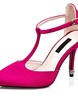 Women's Heels Spring / Summer / Fall Heels / Pointed Toe Silk Wedding / Party & Evening / Casual Stilett