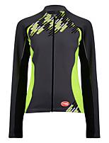 Deportes Bicicleta/Ciclismo Tops Hombres Mangas largasTranspirable / Listo para vestir / Antiestático / Resistente al Viento / Mantiene