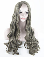 Women Cheap Synthetic Wigs High Quality Fashion Fluffy Fancy  Long Full Wig Wavy Hair Curly Wavy Wigs