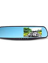 автомобиль рекордер зеркало двойной линзы 1080p ультра высокой четкости широкоугольный двойная запись а20