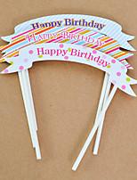 Geburtstag Party-Geschirr 5Stück / Set Kuchen Accessoires Hartkartonpapier rustikales Theme Other Nicht-individualisiert Mehrfarbig
