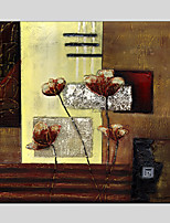 Oil Paintings Modern Flower Style , Canvas Material with Stretched Frame Ready To Hang SIZE:70*70CM.