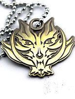 God Eater Cosplay Golden / Silver Alloy  Necklace Alisa Badge / More Accessories