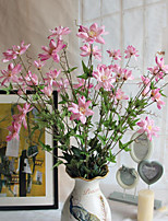 Hi-Q 1Pc Decorative Flowers Real For Wedding Home Table Decoration Orchids Artificial Flowers