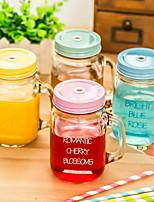 gradiente de albañil frascos de vidrio transparente (estilo al azar)