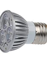 3 E26/E27 LED-spotlampen MR16 3 SMD 250LM lm Warm wit Decoratief AC 220-240 V 1 stuks