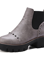 Women's Shoes Spring / Fall / Winter Fashion Boots / Round Toe Boots Office & Career / Dress / Casual Platform Gore