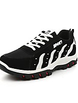Men's Shoes Athletic Tulle Fashion Sneakers Green / Red / White