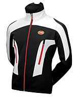 Sportivo Bicicletta/Ciclismo Top Per uomo Maniche lunghe Traspirante / Indossabile / Tenere al caldo / Tessuto ultra leggeroTerylene /