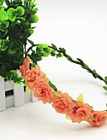 Vrouwen Stof Helm-Bruiloft Guirlandes 1 Stuk Oranje / Roze / Wit