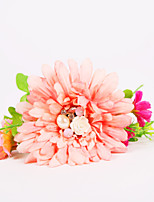 Bouquets de Noiva Atado à Mão Rosas Buquê de Pulso Casamento / Festa / noite Poliéster / Chifon / Espuma 3.94