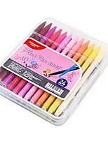 Bolígrafo Plumas de gel,Plástico Colores Aleatorios