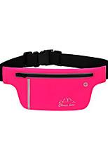 <20 L Waist Bag/Waistpack Camping & Hiking / Climbing Outdoor Wearable Pink / Blue Terylene CleverBee