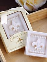 Bachelorette / Bridesmaids / Prince / Princess / Beter Gifts® Fleur de Lis Soap Wedding Tea Party Favours