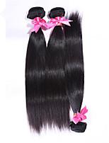 Brazilian Virgin Hair Weft 3 Bundles Human Hair  6A Brazilian Virgin Hair Silk Straight