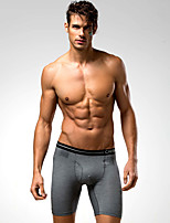 Running Boxers Men's Breathable / Compression Cotton / Polyester Running Sports Stretchy Tight