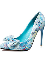 Women's Shoes  Fall Heels / Pointed Toe / Closed Toe Clogs & Mules Dress Stiletto Heel Others Blue / Pink