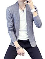 2016 new men's sweater Korean long sleeved jacket sweater cardigan sweater youth male tide