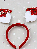 Christmas Antlers Snowman Headbands