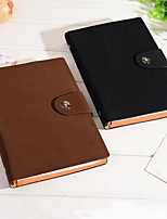 B5 Blank Page Leather High-end Notebook for Office