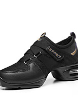 Non Customizable Women's Dance Shoes Leatherette Dance Sneakers / Modern Boots /Sneakers Flat HeelPractice /