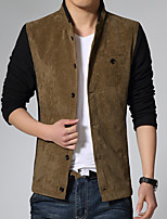Spring and autumn thin men's jacket collar men's casual jacket Korean youth trendy jacket men