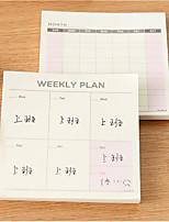 Korean Stationery Work Memo Notes Notepad Schedule This Versatile Little Book