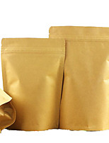 Kraft Paper Bags Standing Ziplock Food Packaging Bags Of Nuts Tea Bags Aluminum Zipper Bag  A Ten Pack