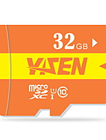 yisen 32gb UHS-I U1 / klasse 10 microSD / microSDHC / microSDXC / tfmax lezen speed80 (mb / s)