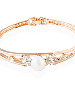 Bracelet Tennis Bracelet Alloy Circle Fashion Wedding Jewelry Gift Rose,1pc