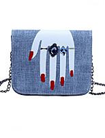 Femme Polyuréthane Décontracté / Shopping Sac à Bandoulière / Etui à Clefs / Pince à Billet / Mobile Bag Phone