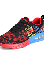 Men's Sneakers Spring / Summer / Fall / Winter Comfort Tulle Casual Flat Heel  Blue / Green / Black and Red Sneaker