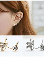 Earring Others Jewelry Women Fashion Daily / Casual Alloy 1 pair Gold / Silver