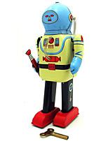 Игрушка новизны / Логические игрушки / Обучающие игрушки / Игрушка с заводом Игрушка новизны / / воин / Робот Металл Коричневый Для детей