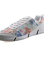 Unisex Sneakers Spring / Fall Comfort PU Athletic Black / Red / White / Orange Walking / Running
