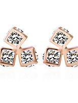 Alloy Earrings Stud Earrings Wedding/Party 1 pair