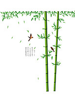 Wall Stickers Wall Decals Style Dracaena Sanderiana PVC Wall Stickers