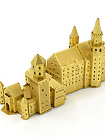 Jigsaw Puzzles 3D Puzzles Building Blocks DIY Toys Famous buildings 1 Metal Gold Novelty Toy