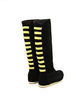 Women's Boots Spring / Fall / Winter Wedges / Fashion Boots Leatherette Outdoor / Casual Wedge Heel OthersBlue / Yellow