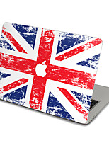 1 pièce Anti-Rayures Drapeau En Plastique Transparent Décalcomanie Extra Fin Mat Motif PourMacBook Pro 15'' with Retina MacBook Pro 15 ''