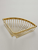 Bathroom Shelf / Gold / Wall Mounted /29.5*8*5cm /Brass /Contemporary /29.5cm 8cm 0.54