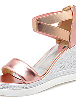 Women's Sandals Spring / Summer / Fall Platform / Sandals Party & Evening / Dress / Casual Wedge Heel Stitching