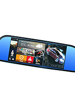 HD Recorder Car Rearview Mirror Driving Recorder(Without Memory Card)