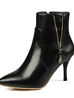 Women's Shoes Fall / Winter Fashion Boots / Combat Boots Boots Outdoor / Office & Career / Casual Stiletto Heel/9-12
