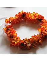 Women's Fabric Headpiece-Wedding Wreaths 1 Piece Purple / Orange / Red / Yellow Flower 50CM